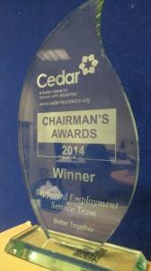 chairmans award 1